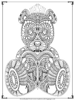 baby bear coloring pages for adults printable