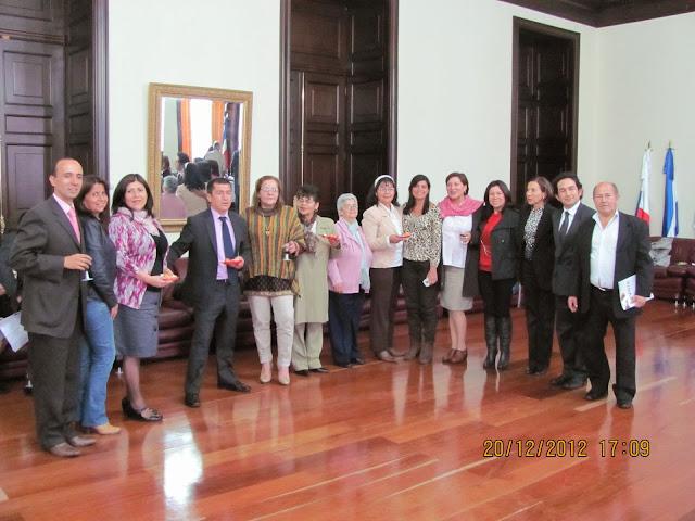 Reunión en el Congreso de la República lanzamiento Ley 1616 de Salud Mental