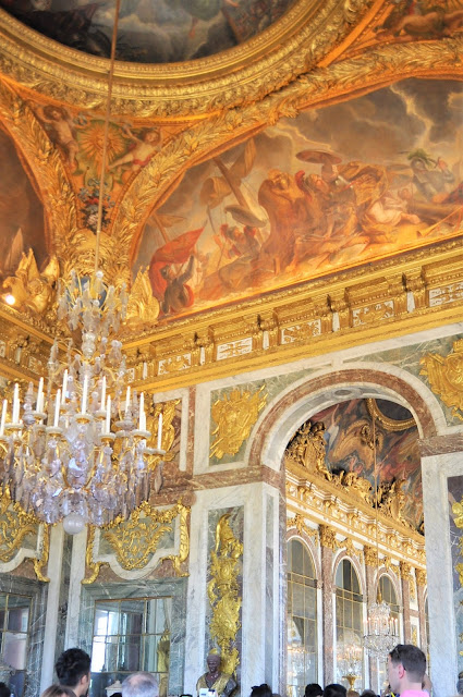 Versailles Palace, Notes from France - In the Footsteps of Marie-Antoinette, photo by modernbricabrac