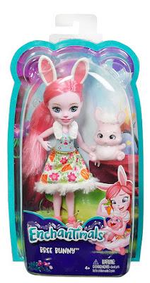 ENCHANTIMALS - Muñeca Bree Bunny | Mattel 2017 | caja JUGUETE