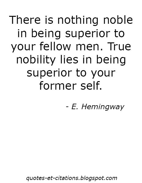 Citation Etre supérieur à soi-même