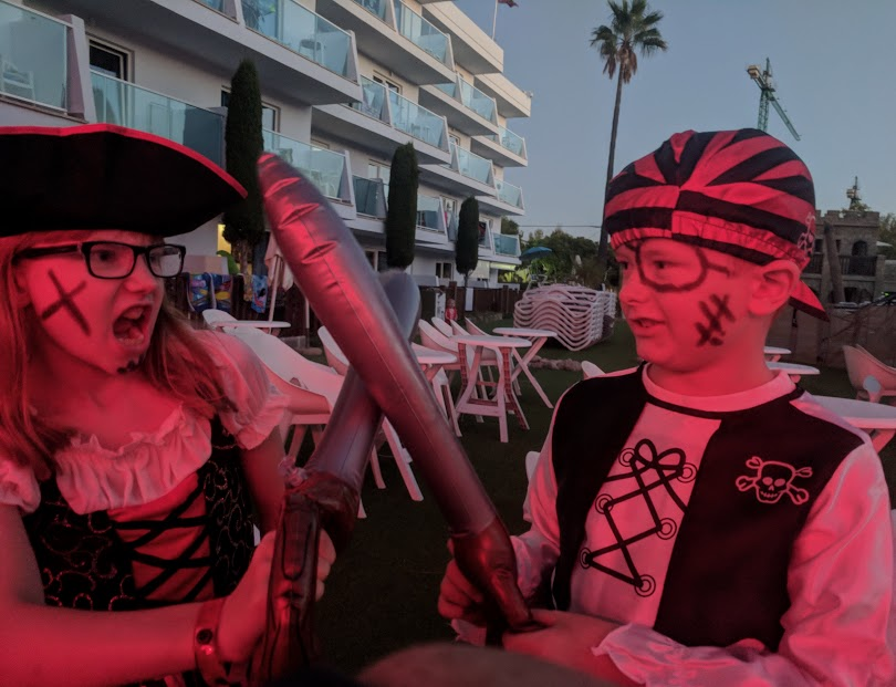 Pirates Village Santa Ponsa | Jet 2 Holidays Review  - pirate dress up