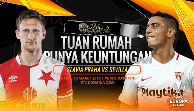 Prediksi Slavia Praha Vs Sevilla, Jumat 15 Maret 2019 Pukul 03.00 WIB