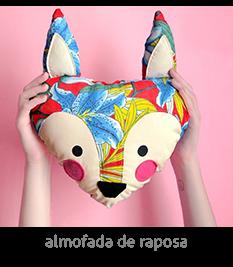 almofada de raposa feita à mão | espanta-papão