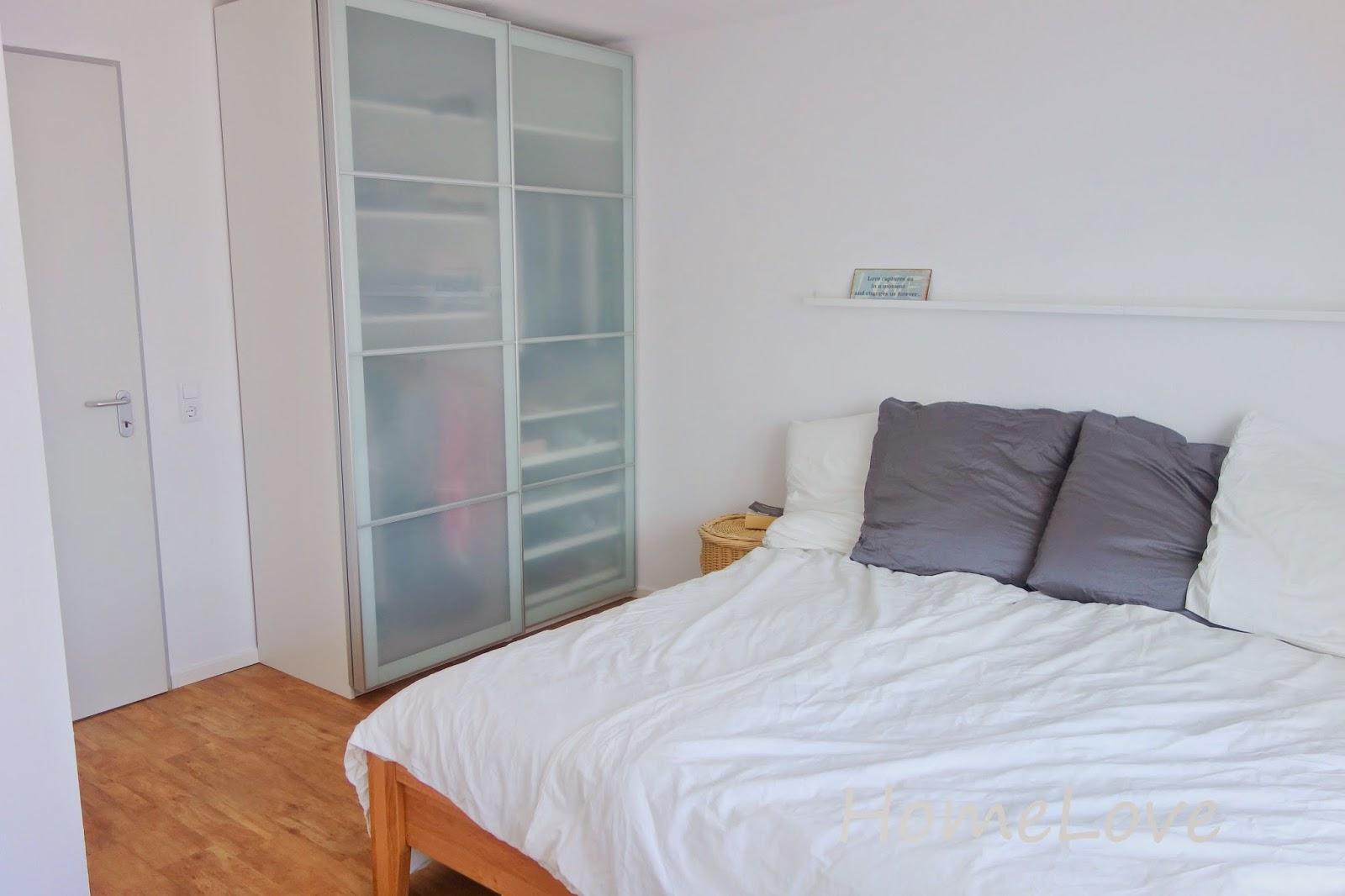 homelove das neue schlafzimmer. Black Bedroom Furniture Sets. Home Design Ideas