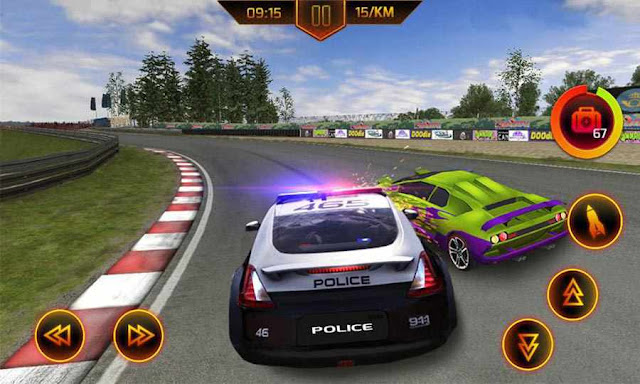 Game Mobil Balap Polisi Android Police Car Chase MOD APK