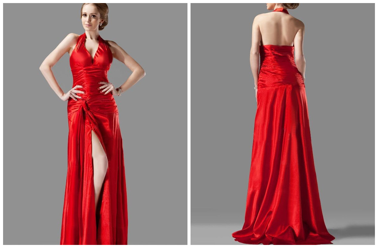 Backless Prom Dress