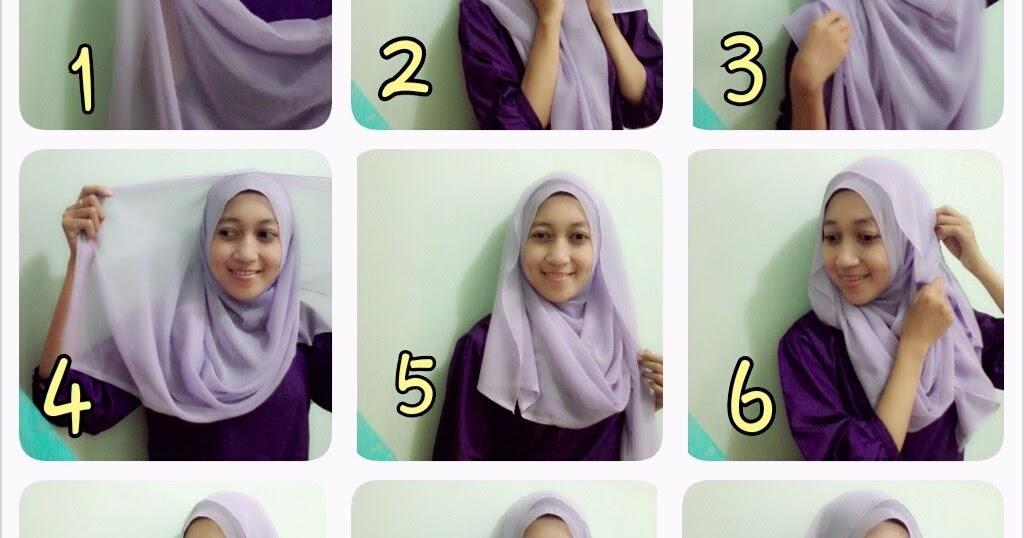 Gambar Tutorial Hijab Pashmina Segi Empat Modernhijab77