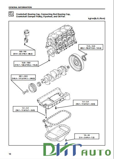 ISUZU DIESEL ENGINE 4JA1 AND 4JB1 WORKSHOP MANUAL