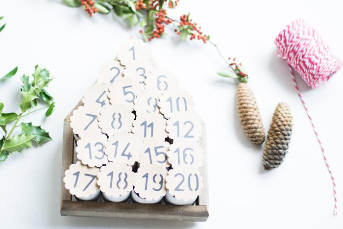 Calendario de Adviento diy