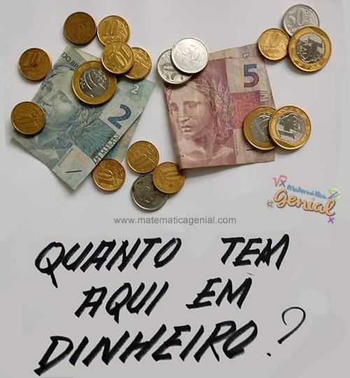 Quanto tem aqui em dinheiro?