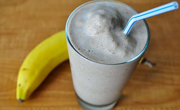 Chunky Monkey Protein Shake (vegan) #drink #delicious