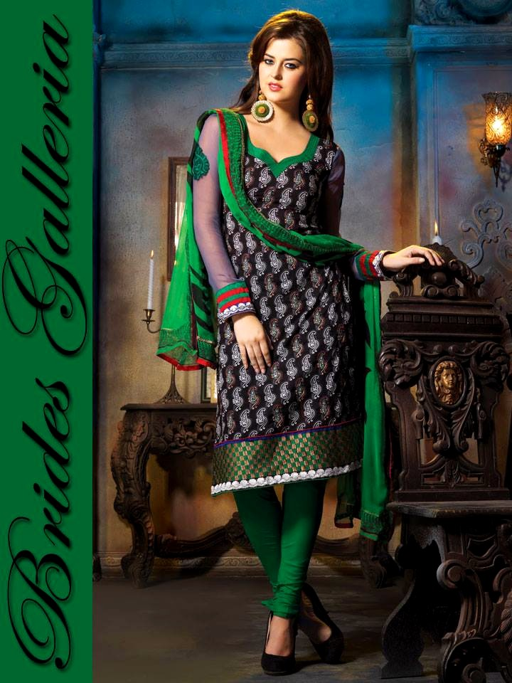 Punjabi Suits 2013 2014 Voguish Pure Cotton Punjabi
