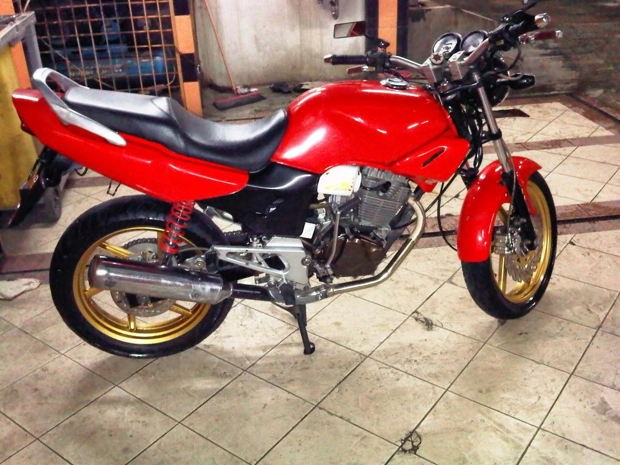 Koleksi Ide Modif Honda Tiger Velg 17 Terbaru  Botol