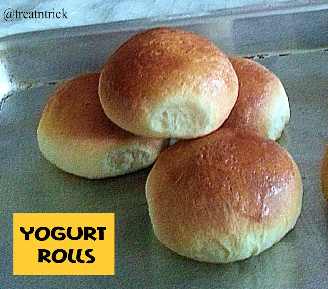 Yogurt Rolls Recipe @ treatntrick.blogspot.com