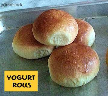 Yogurt Rolls Recipe @ treatntrick.blogspot.com