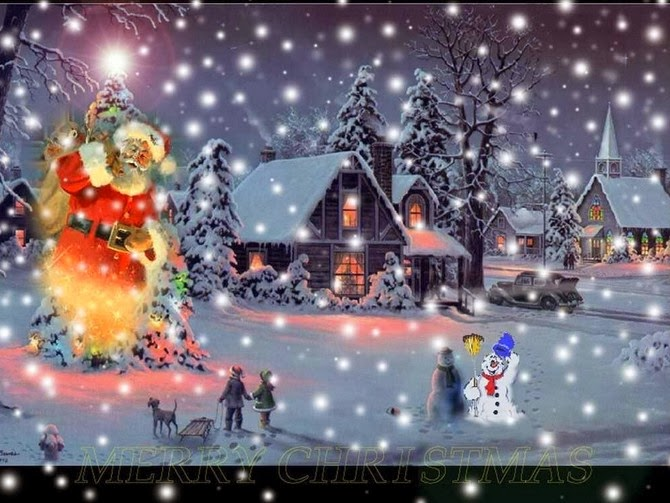 HD wallpaper Santa clause