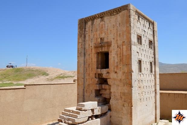 Tombe rupestri di Naqsh-e Rostam, Tesoro