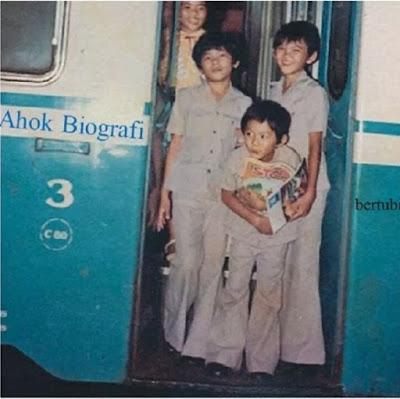 foto masa kecil pak ahok