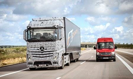 Xe tải không cần người lái sắp thành hiện thực