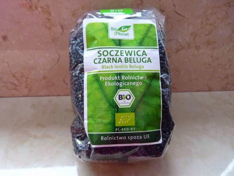 Czarny kawior ze sklepu ze zdrową żywnością