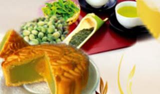 Bánh trung thu Bibica - Hạt sen trà xanh 1 trứng 150g