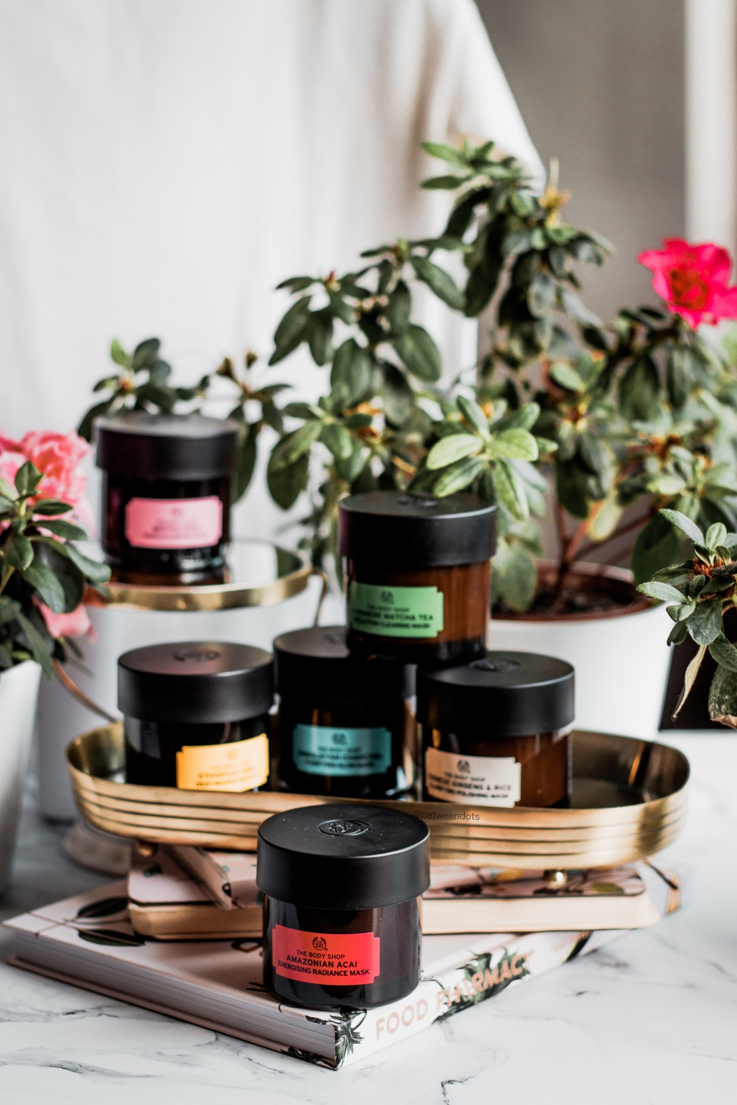 The Body Shop Superfood Mask Series Rice Ginseng Japanese Matcha Himalayan Charcoal Ethopian Honey British Rose Amazonian Acai