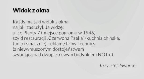 Krzysztof Jaworski Widok Z Okna