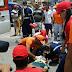 Acidente em cruzamento na cidade de Santo Antônio, RN deixa homem ferido