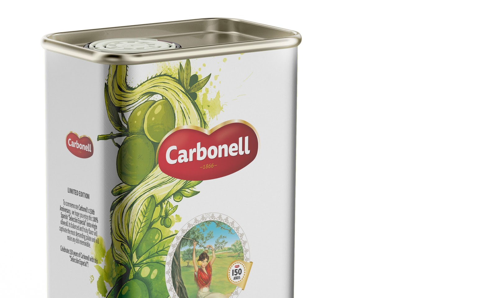 Carbonell Olive Oil on Packaging of the World - Creative Package
