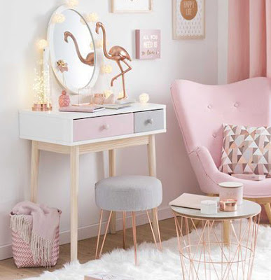 Small dressing table design ideas for small bedrooms