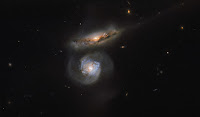 Interacting Galaxies MCG+01-38-004 • MCG+01-38-005