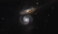 Interacting Galaxies MCG+01-38-004 • MCG+01-38-005