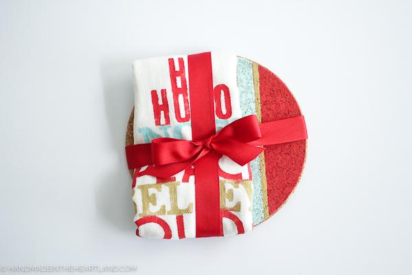 Handmade Christmas gift for friends and neighbors.
