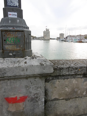 Vue sur le port de la Rochelle...depuis Bordeaux, malooka