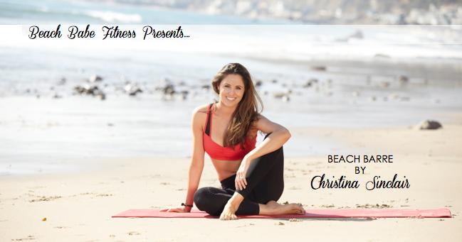 Beach Babe Fitness Beach Barre-6379