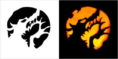 Halloween Pumpkin Design To Carve