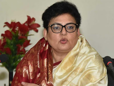 Rekha Sharma, the chairperson of National Commission for Women