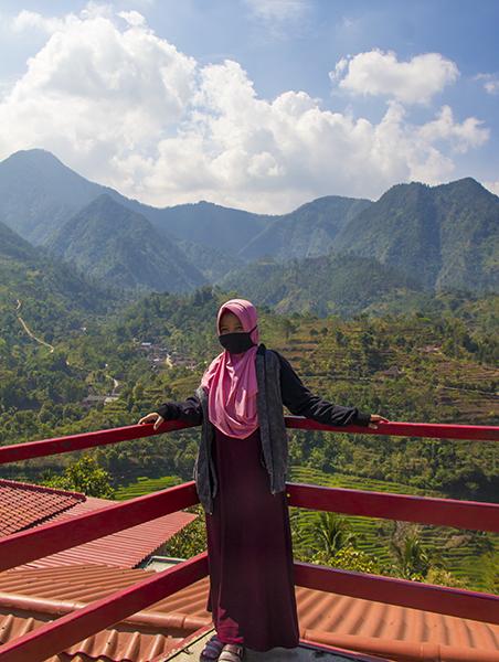 Pemandangan dari Gardu Pandang