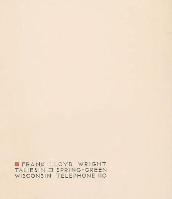 Frank-Lloyd-Wright-Letterheadjpg (346×400) letterhead Pinterest - official letterhead
