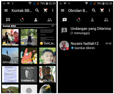 BBM Black V2.13.0.26 Apk Terbaru