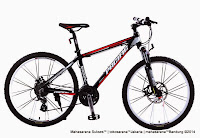Sepeda Gunung Pacific Tranzline 600 24 Speed + Rangka Aloi 26 Inci