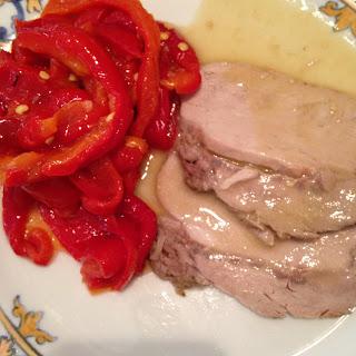 Lomo de cerdo con Mostaza 1