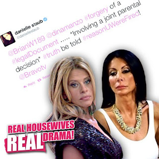 What Did Danielle Staub Do To Dina Manzo On Real Housewives Of New Jersey?