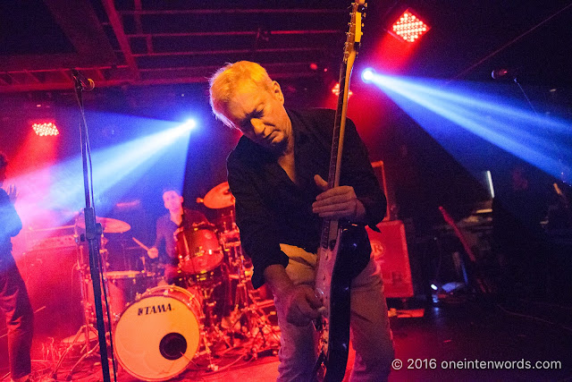 Gang of Four at Velvet Underground on October 2, 2016 Photo by John at  One In Ten Words oneintenwords.com toronto indie alternative live music blog concert photography pictures