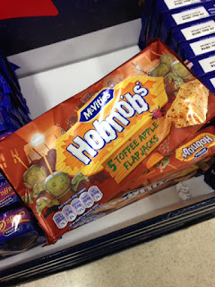 mcvities hobnobs toffee apple flapjacks