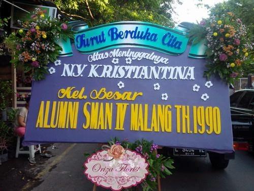 Toko Bunga Papan di Surabaya, Karangan Bunga Duka Cita Surabaya
