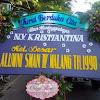 Bunga Papan Dukacita Alumni SMAN IV Malang