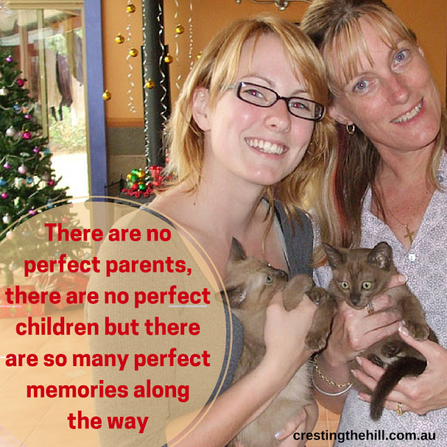 there are no perfect parents and there are no perfect children - my feature on the Seeing Me Project for Mothers Day