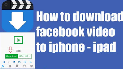 Downloading Facebook Videos on iPhone